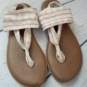 Sanuk Shoes - Sanuk yoga mat sling sandals sz 10